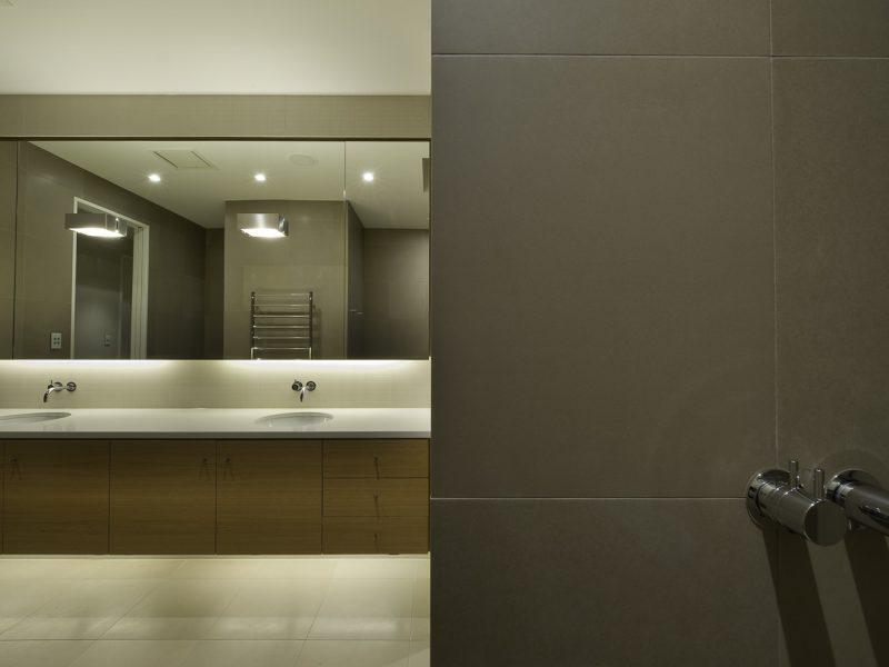 Professional tile installation of this award winning bathroom by Terranova tiling.