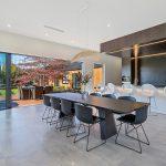 Living area floor tile installation by Terranova Tiling, Christchurch.